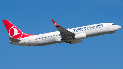 TC-JHY - Boeing 737-8F2 - Turkish Airlines