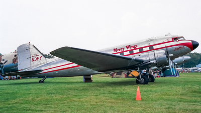N3FY - Douglas DC-3C - Mercy Wings