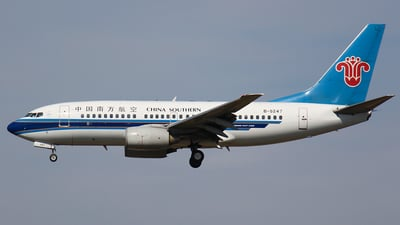 B-5247 - Boeing 737-71B - China Southern Airlines