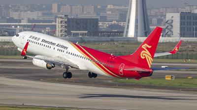 B-5317 - Boeing 737-86N - Shenzhen Airlines