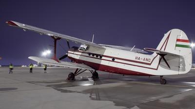 HA-ANG - PZL-Mielec An-2 - Private