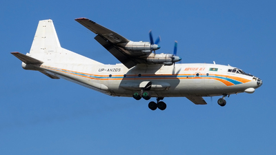 UP-AN205 - Antonov An-12BK - Jupiter Jet Airlines