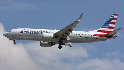 A picture of N321RL - Boeing 737 MAX 8 - American Airlines - © chalymtz