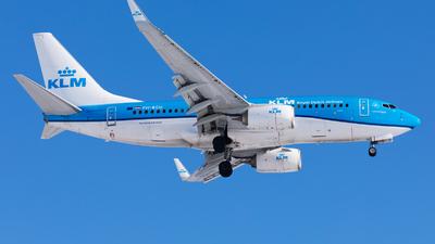 A picture of PHBGU - Boeing 7377K2 - KLM - © Oleksandr Smerychansky