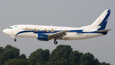UP-B3710 - Boeing 737-31S - Scat Air Company