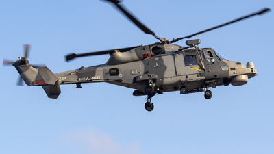 ZZ414 - Agusta-Westland AW-159 Wildcat HMA2 - United Kingdom - Royal Navy