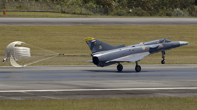 FAC3061 - IAI Kfir C12 - Colombia - Air Force
