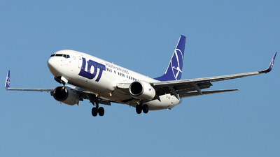 SP-LWB - Boeing 737-89P - LOT Polish Airlines