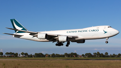 A picture of BLJA - Boeing 747867(F) - Cathay Pacific - © Kris Van Craenenbroeck