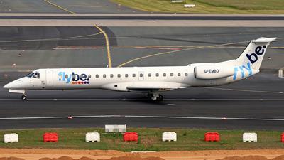 G-EMBO - Embraer ERJ-145EU - Flybe