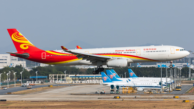 A picture of B1097 - Airbus A330343 - Hainan Airlines - © Jack  Li