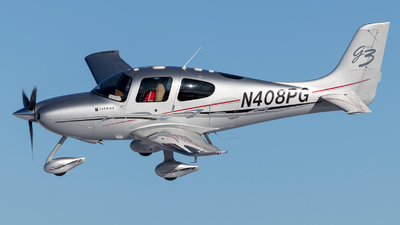 N408PG - Cirrus SR22-GTS G3 - Private