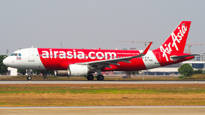 HS-BBI - Airbus A320-216 - Thai AirAsia