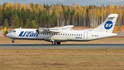 A picture of VQBLM - ATR 72500 - UTair - © David_Vlasov