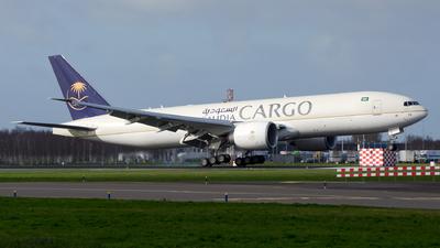 HZ-AK74 - Boeing 777-FFG - Saudi Arabian Airlines Cargo