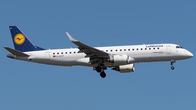 D-AECF - Embraer 190-100LR - Lufthansa CityLine
