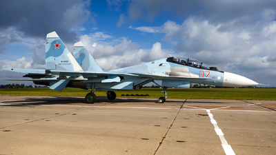 RF-95822 - Sukhoi Su-30SM - Russia - Air Force