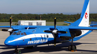 LZ-FLA - Antonov An-26B - Bright-Flight