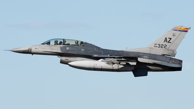86-1322 - Lockheed Martin F-16D Fighting Falcon - United States - US Air Force (USAF)
