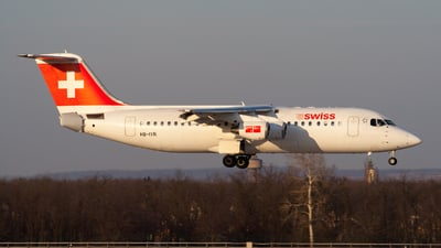 HB-IYR - British Aerospace Avro RJ100 - Swiss