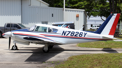 N7826Y - Piper PA-30-160 Twin Comanche - Private