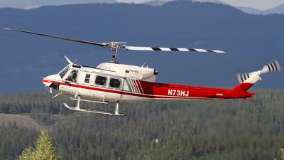 A picture of N73HJ - Bell 212 - [30552] - © C. v. Grinsven