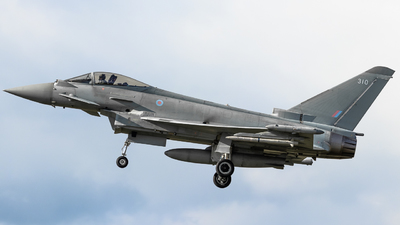 ZK310 - Eurofighter Typhoon FGR.4 - United Kingdom - Royal Air Force (RAF)