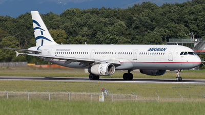 A picture of SXDGP - Airbus A321232 - Aegean Airlines - © Sandra