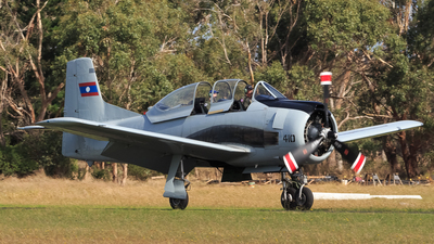 VH-CIA - North American T-28 Trojan - Private