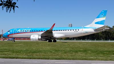 A picture of LVCPK - Embraer E190AR - Aerolineas Argentinas - © MartinezRoe7