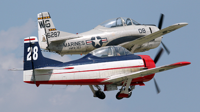 N238V - North American T-28B Trojan - Private