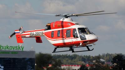 RA-20018 - Kazan Ansat - Kazan Helicopter Plant