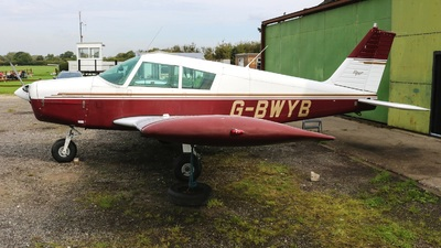 G-BWYB - Piper PA-28-160 Cherokee - Private