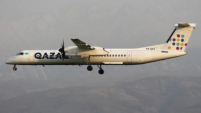 A picture of P4QAZ - De Havilland Canada Dash 8400 - [4502] - © Amir Amangaliyev - Kazakhstan Spotting Club