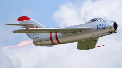 N1713P - PZL-Mielec LIM-5 - Private
