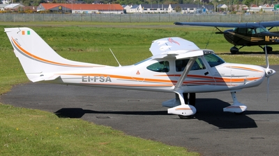 EI-FSA - TL Ultralight TL-3000 Sirius - Private