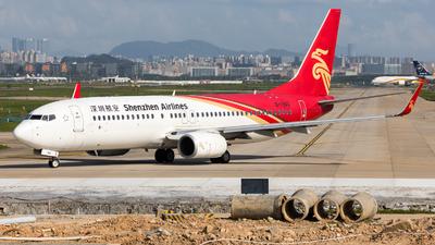 B-1940 - Boeing 737-87L - Shenzhen Airlines