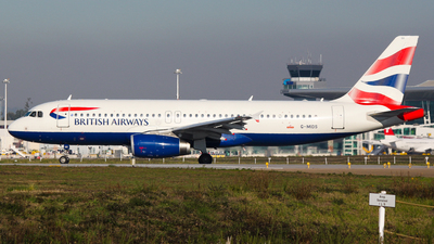 G-MIDS - Airbus A320-232 - British Airways