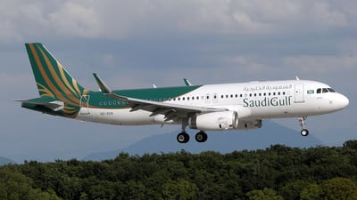 HZ-SGA - Airbus A320-232 - SaudiGulf Airlines