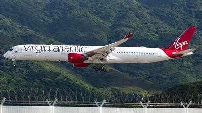 G-VLUX - Airbus A350-1041 - Virgin Atlantic Airways