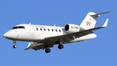 B-7763 - Bombardier CL-600-2B16 Challenger 605 - Yifeng Jet
