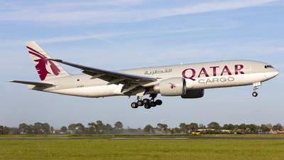 A picture of A7BFZ - Boeing 777F - Qatar Airways - © Kris Van Craenenbroeck
