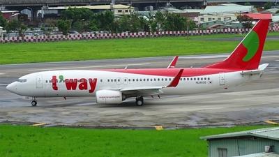 HL8030 - Boeing 737-8Q8 - T'Way Air