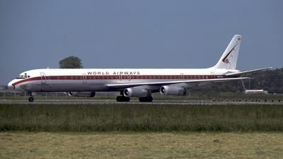 N805WA - Douglas DC-8-63(CF) - World Airways