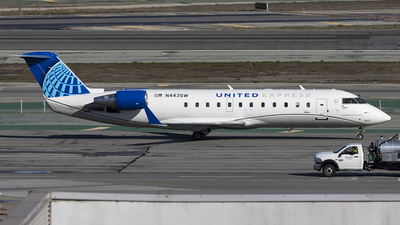 N443SW - Bombardier CRJ-200LR - United Express (SkyWest Airlines)