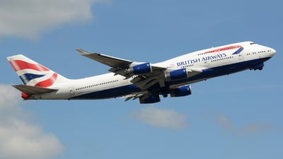 G-BYGA - Boeing 747-436 - British Airways