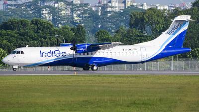 VT-IYK - ATR 72-212A(600) - IndiGo Airlines