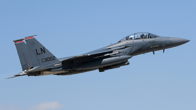 00-3002 - Boeing F-15E Strike Eagle - United States - US Air Force (USAF)