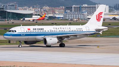 B-6037 - Airbus A319-115(LR) - Air China