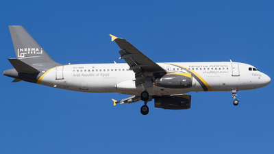SU-NMB - Airbus A320-232 - Nesma Airlines